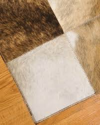 Leather Area Rugs Berkeley Cowhide Patchwork Leather Rug Natural Area Rugs