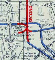 Map Of New York City Subway by Map A History Of Second Avenue Subway Through Vintage Maps
