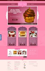 Design Site by Sweet Cakes Ecommerce Psd Website Template U2013 Designscanyon