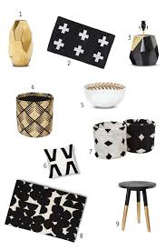 design evolving gold black and white home decor trend target