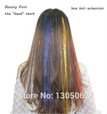 laser hair extensions stlye 12 colors sparkle glitter twinkle dazzle tinsel festival