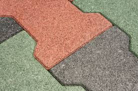 Rubber Patio Mats Rubber Pavers Recycled Rubber Tiles For Outdoor Use