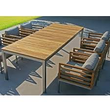 Teak Patio Dining Table Beautiful Using Teak On Outdoor Furniture For How To Apply