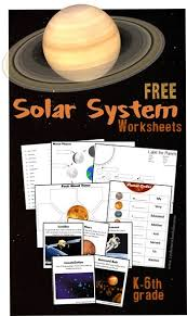solar system worksheets for kids great free pack for elementary