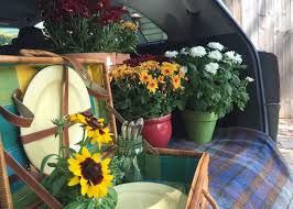 game day flowers for college football tailgating garden club