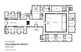church floor plans free file unitarian church of rochester ny 1st floor plan jpg
