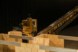 build a house watch a giant house building robot lay 1 000 bricks per hour