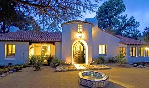 Spanish Colonial Homes by Bedroom Archaicfair Spanish Style Architecture Royalty Stock