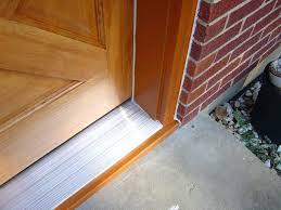 Replacing An Exterior Door Threshold Entry Door Threshold Replacing Door Threshold Adjustment Entry