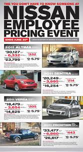 nissan sentra lease price nissan employee lease
