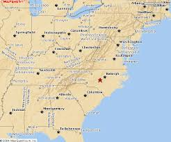 map of east coast states america east coast map map