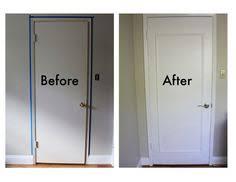 Interior Door Makeover Suffolk White Primed Bifold With Panel Effect Interior Door