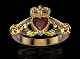 claddagh ring 3d print model claddagh ring 3 cgtrader
