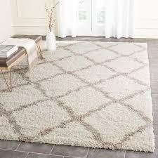 Shag Carpet Area Rugs Safavieh Shag Ivory Beige Area Rug Reviews Wayfair