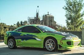 mitsubishi street racing cars replica of the mitsubishi eclipse paul walker drove in the fast