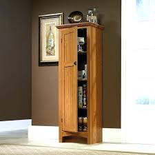 oak kitchen pantry cabinet 12 inch deep pantry cabinet dancingfeet info