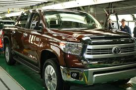 toyota tundra colors 2014 one millionth toyota truck produced in toyota of n
