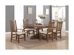 flexsteel wynwood collection sonora formal oval dining table and