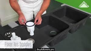 syphon d evier de cuisine comment poser une bonde un vidage de baignoire ou d évier leroy