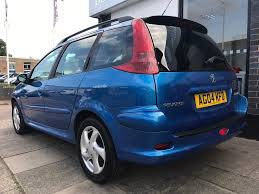 used 2004 peugeot 206 sw 2 0 hdi xsi 5dr a c for sale in norfolk