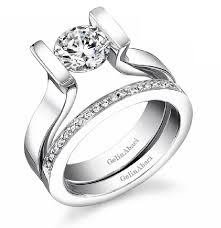 tension engagement rings tension set rings