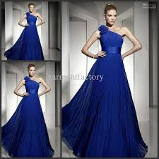 cheap royal blue bridesmaid dresses royal blue bridesmaids dresses one shoulder a line floor