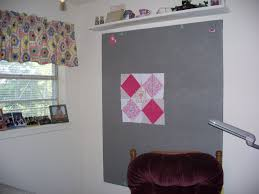 becky u0027s country quilting design wall in sewing room