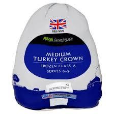 asda medium turkey crown class a serves 6 9 asda groceries