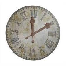 Pottery Barn Outdoor Clock Outdoor Galvanized Wall Clock Pottery Barn Clock Pinterest