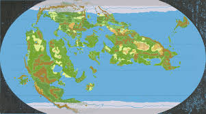 Map Of The World Bc by Mystara Outer World 8250 Bc 72 Miles Per Hex