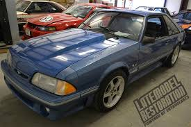 fox mustang restoration project blue collar fox mustang restoration lmr