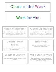 chore chart for kids printable chore chart chart and create