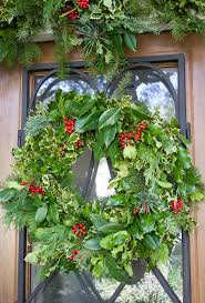 Christmas Home Decorators How To Decorate Your Front Porch With Christmas Greenery Design