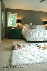 Area Rugs In Bedroom Bedroom Fascinating Design Of White Wool Square Area Rug Bedroom