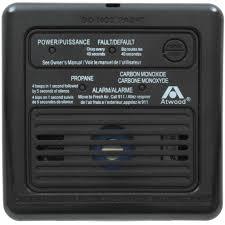 atwood rv carbon monoxide and propane gas detector 12v walmart com