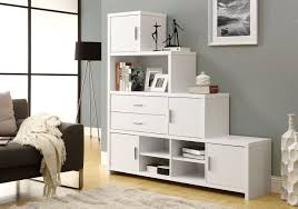 monarch white hollow core left or right facing step bookcase i