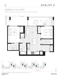 Avalon Floor Plan by Avalon Park River District Of Vancouver On 8700 Kinross St