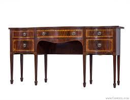 Mahogany Sideboards And Buffets Berkey U0026 Furniture Serpentine Mahogany Sideboard Mahogany