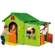 maisonnette de jardin enfant cabane plastique jardin abri de jardin