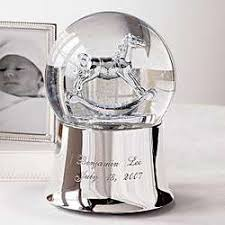 snow globe rock their world our silver plated rocking snow
