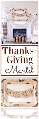 bake craft sew decorate thanksgiving mantel clutter