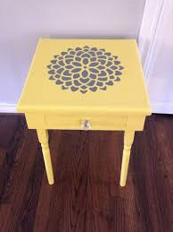 Ceramic Accent Table Appealing Yellow Accent Table With Alluring Ceramic Accent Table