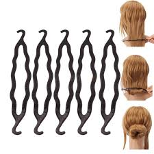 bun clip buy homeoculture pack of 5 twist holder clip magic roll bun hair