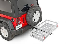 cargo rack for jeep wrangler quadratec 10101117 lightweight aluminum cargo rack for 2