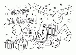 happy birthday coloring card birthday card coloring page happy birthday card for boys coloring