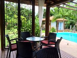 beautiful bungalows condominium 200 meters from the sea with three beautiful bungalows