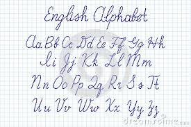 free worksheets alphabet in handwriting uppercase and lowercase