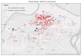 St Louis Zip Code Map Federal Health Agency To Help Study Risks From Radioactive Creek