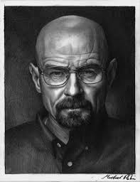 walter white by mikerobinsart on deviantart