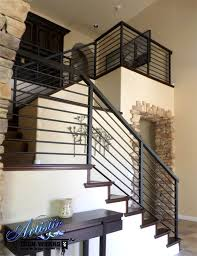 Contemporary Handrails Interior Modern Wrought Iron Stair Railings Wrought Iron Railings